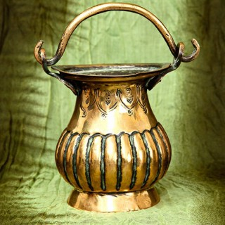 Brass Holy Water Stoup