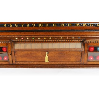 Antique Victorian Thurston Billiard Snooker and Life Pool Scoreboard c.1880
