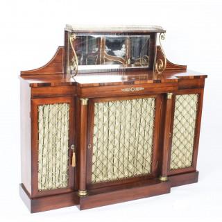 Antique Regency Gonçalo Alves Chiffonier Sideboard C1820 19th C
