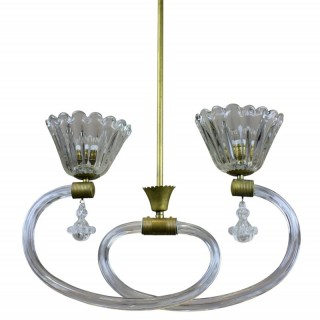 AN ATTRACTIVE PENDANT LIGHT BY BAROVIER