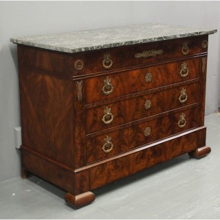 French Empire Commode or Chest of Drawers