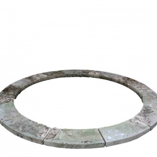 Reclaimed English Limestone Pool Surround