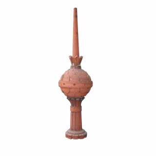 Antique Terracotta Finial Ornament