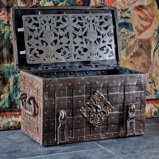 17th century strong box