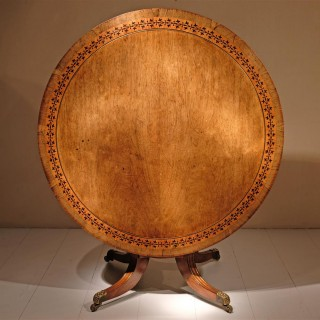 A Regency Period  Centre Table
