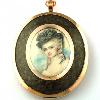 Portrait miniature by Richard Cosway