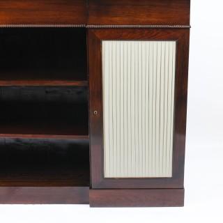 Antique William IV Chiffonier Open Bookcase Sideboard c.1835 19th Century
