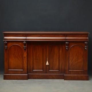 R00 Victorian 4 door Sideboard in Mahogany