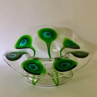 C. 1905 Stuart Glass bowl