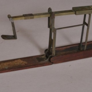 Antique 18th Century Set of Brass Guinea Scales