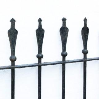 Antique Wrought Iron Garden Gate