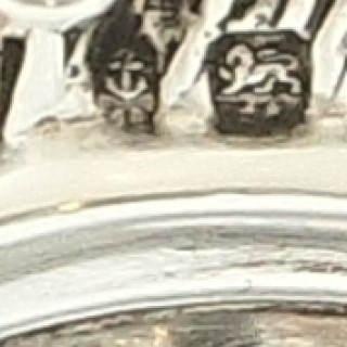 Antique Edwardian Sterling Silver 11 1/2