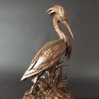 'Heron' c.1870 Jules Moigniez