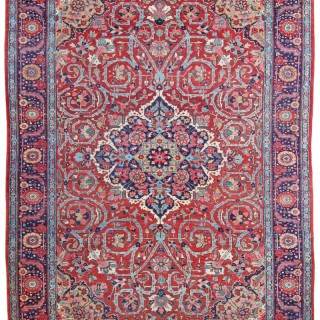 Antique Heriz carpet, Sharabian, Persia