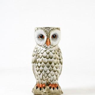 large owl shaped ceramic umbrella holder by Maison Chaumette