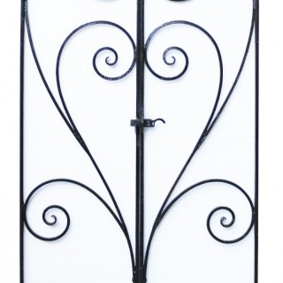 Pair Of Wrought Iron Garden Gates