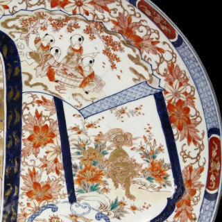 Antique Imari Porcelain Dish or Charger