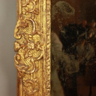 Early 18th Century Giltwood Mirror