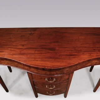 An unusual late 18th Century well-figured mahogany Serving Table.