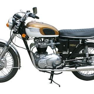 Triumph Bonneville Motorcycle, T120R, 650cc.