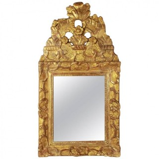 Small Regence Giltwood Mirror