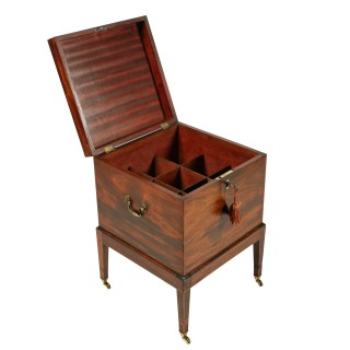 George III Mahogany Cellaret