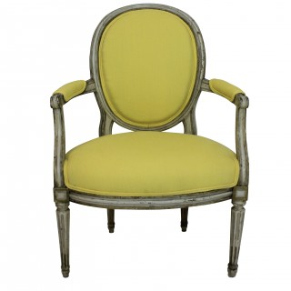 A PAIR OF 18TH CENTURY ARMCHAIRS