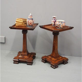 Pair of George IV Mahogany Occasional Tables