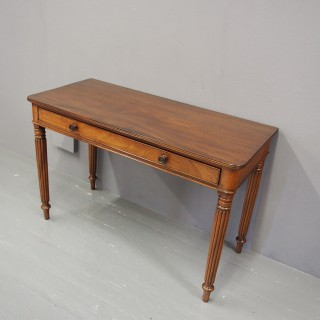 Gillows Style Mahogany Writing Table or Side Table