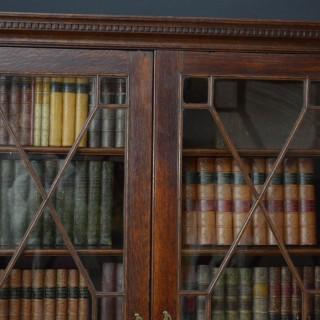 George II Oak Bookcase