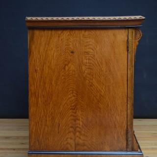 Low Victorian Pollard Oak Sideboard