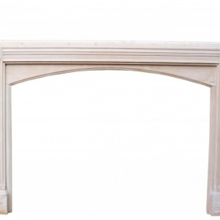 Antique Pine Bolection Fire Surround