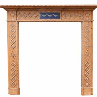 Regency Period Pine Fire Surround