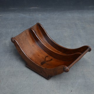 George III Mahogany Cheese Coaster