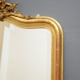 XIX Century French Giltwood Wall Mirror