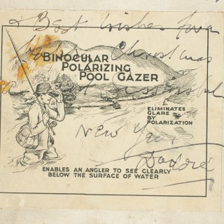 Vintage Anglers Binocular Polarizing Pool Gazer.