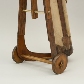 Unusual Wooden Trolley, Golf Club Carrier