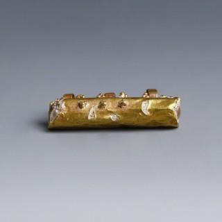 Byzantine Gold Reliquary Holder