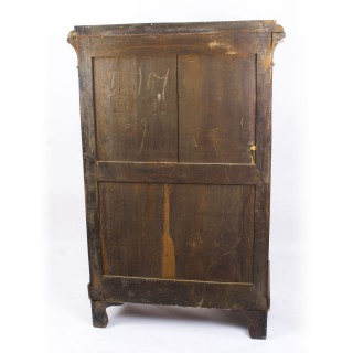 Antique Dutch Marquetry Walnut Seven Drawer Chest c.1800 Early 19th C
