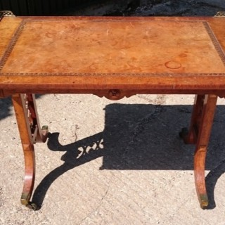 Early Nineteenth Century Regency Library Writing Table