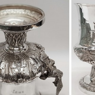 Georgian Silver Trophy Cup