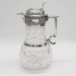 Antique Silver Claret Jug