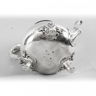Antique William IV Silver Teapot Paul Storr 1826 19th Century