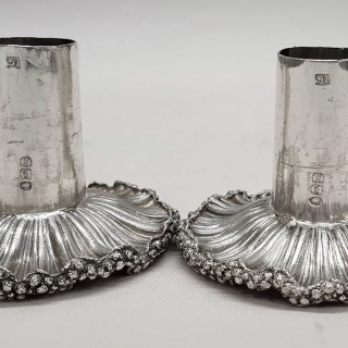 Georgian Silver Candlesticks