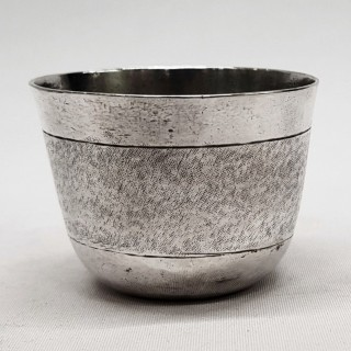 Antique German Silver Tot Cup