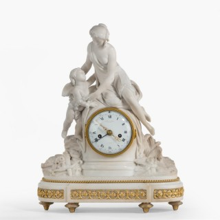 A Louis XVI Period Mantle Clock By Bruel of Paris