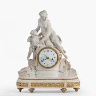 A Louis XVI Period Mantle Clock By Bruel of Paris