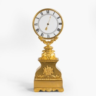 A Rare 'Mystery' Clock attributed to Robert-Houdin