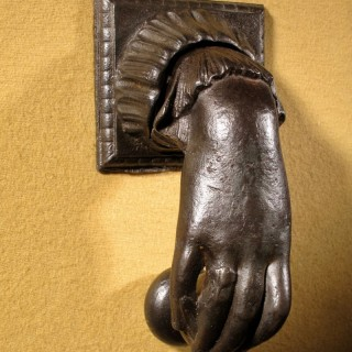 An Original Victorian Period Cast iron Door Knocker.
