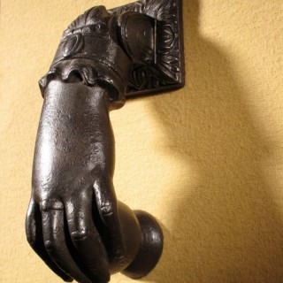 An Original Victorian Period Cast iron Door Knocker